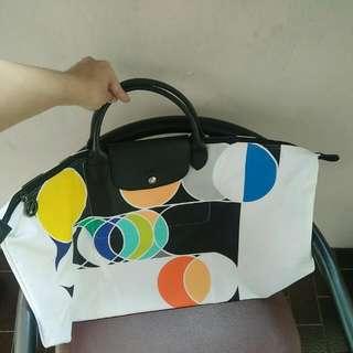 Longchamp Travel Bag Sarah Morris 2014