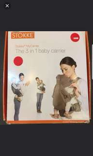 Stokke Baby Carrier - almost brand new
