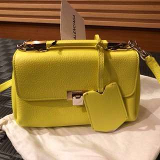 Balenciaga Yellow Bag
