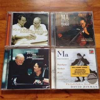 Yo-Yo Ma CDs