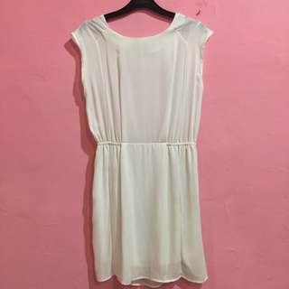 RE-PRICE White Dress