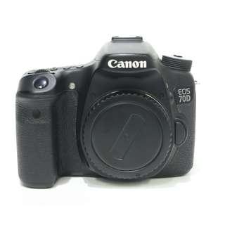 Canon EOS 70D Body Only (SC: 20K+)