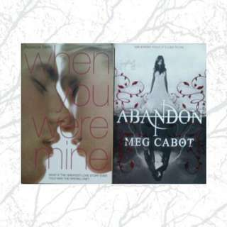 *2 BOOKS FOR RM12* When You Were Mine & Abandon