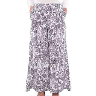 Aubrey Classic Paisley Pants in White