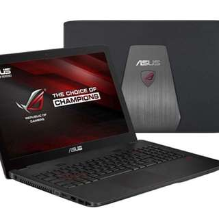 ASUS ROG GL552 i7 with 8gb ddr4 HyperX Gaming ram