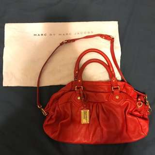 Marc by Marc Jacobs two ways leather bag