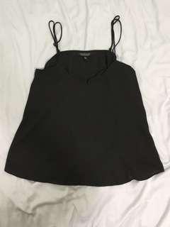 Topshop Black Cami Top