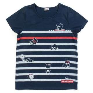 Japan Sanrio Bad Badtz Maru T-shirt (border)