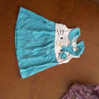 Dress baby hello kitty