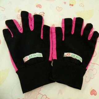 Gloves Black/Pink