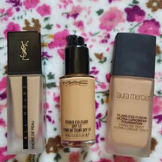Pre Loved High End Foundations