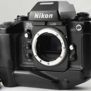 Nikon F4 SLR