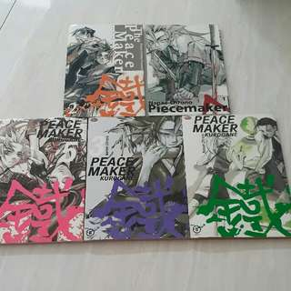 komik peace maker 1-5
