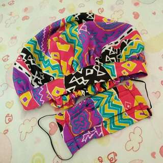 Sale! Cloth Bonnet and Face Mask