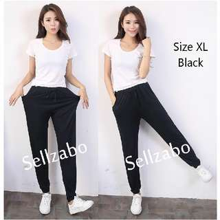 New Size XL Black Casual Loose Comfy Relaxing Long Pants Sellzabo #S5 Ladies Girls Women Female Lady