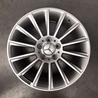 "Used 17"" Mercedes Rims"