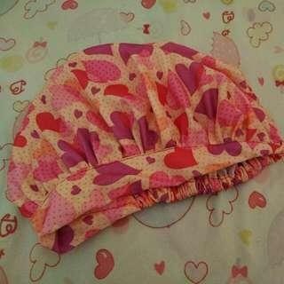 Sale! Cloth Bonnet Pink Heart