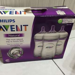 AVENT FEEDING BOTTLE 3 pcs 9oz/ 260ml