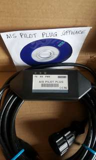 AIS Pilot Plug USB 2.0 Data Cable 5 Meters