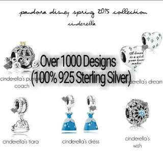 Over 1000 Designs (925 Sterling Silver) To Choose From, Compatible With Pandora, T19