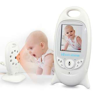 Wireless Baby Monitor - Temperature Monitor, Night Vision, Lullabies, 2.4 Inch Screen, Two-way Audio (CVAIA-I609)