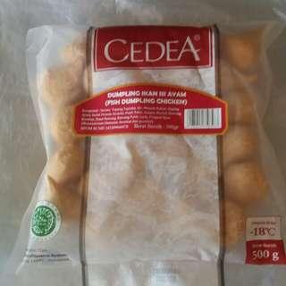 Cedea Dumpling Ikan Isi Ayam 500 gr