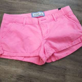 A&f Pink Shorts