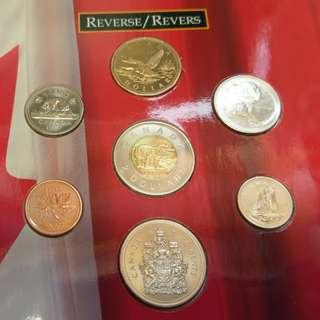加拿大 1997套裝幣一套