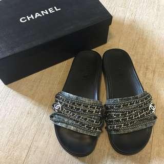 Chanel 拖鞋Size 39