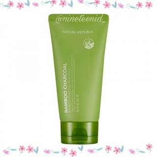 Nature Republic Bamboo Charcoal Mud Mask