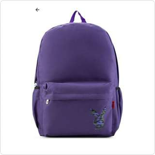 #PURPLE PLAYBOY BACKPACK ORIGINAL