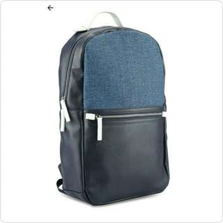 #BRAND NEW MIXED MATERIAL BACKPACK