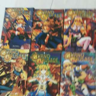 chrono crusade no. 1,2,4-6