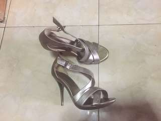 Also Heels Citroni silver-broze