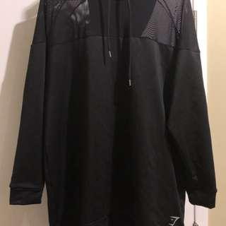 Nikki Blackketter x gymshark season 1 hoodie in black (size m)