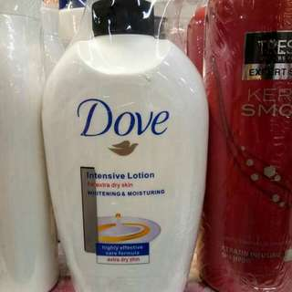 Dove Intensive Lotion for extra dry skin Whitening and Moisturizing