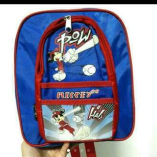 Kids School Bag - Mickey Mouse