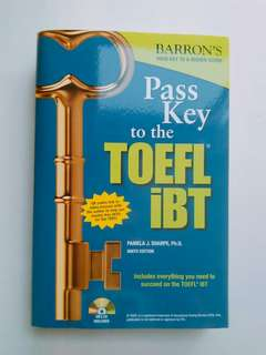 TOEFL iBT Pass Key - Barron's Ninth Edition