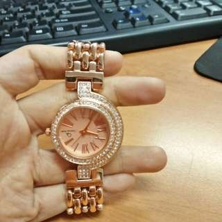 Jam Tangan Rose Gold Christian Ardan