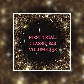 FIRST TRIAL LASH PROMOTIONS