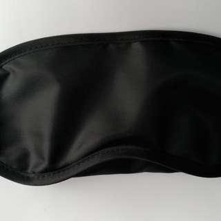 黑色 淨色 睡眠遮光眼罩 包郵
