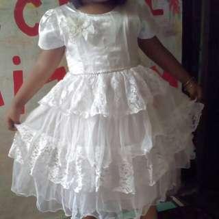 Dress pesta anak cantik