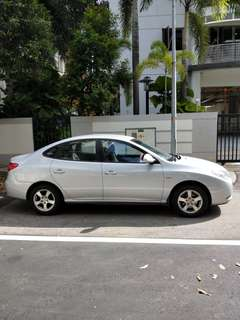 Hyundai Avante For Grabcar Uber Car Rental