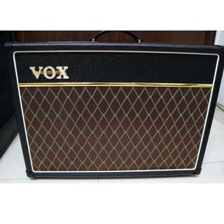 VOX AC15C1 15W 1x12 Tube Guitar Combo Amplifier