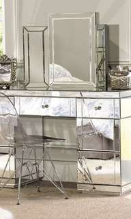 NEW IN BOX - EXCLUSIVE MIRROR DESK SET UP - ALL MIRROR