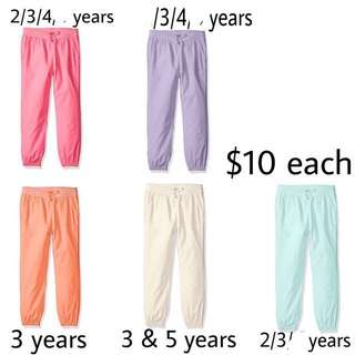 SALE 30% Off - 2/3/4/5 years BNWT The children's place toddler girl skinny pants
