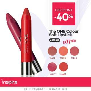 The One Colour Soft Lipstick #FISIPUNIS