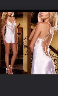 Lowback Lace Lingerie Sleepwear