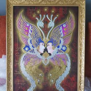 Kruba Krissana king of butterfly painting