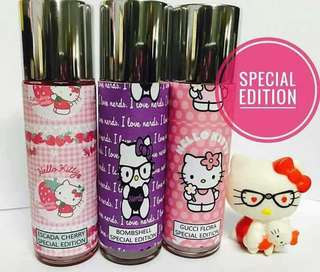 Perfume hello kitty